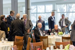 The annual meeting provides a great opportunity to network