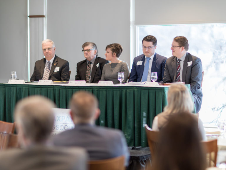 Mayors and City Managers from the metro area explained their unique approaches to the Local Option Sales & Service Tax referendum and responded to audience questions.